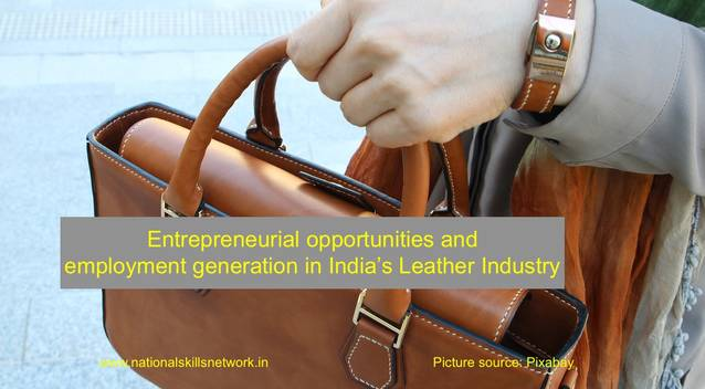 entrepreneurial_opportunities_and__employment_generation_in_india's_leather_industry