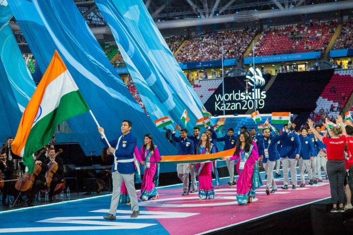 Talented Indian participants win hearts at WorldSkills Kazan 2019