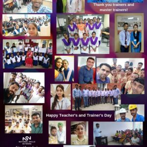 Thank you trainers - Teacher's Day 2019