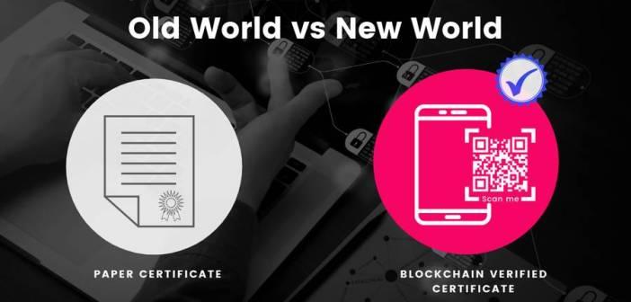 Blockchain-powered digital certificates to redefine certification methods
