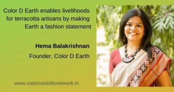 Color D Earth enables livelihoods for terracotta artisans by making Earth a fashion statement