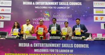 Launch of 14 Authorized World Skills India Training Centers (AWSITC) for Media and Entertainment sector