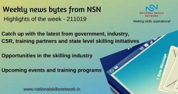 NewsNewsbytes on Skill Development and Vocational Training – 211019
