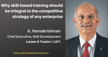 K Ramakrishnan CE Skill Development L&T