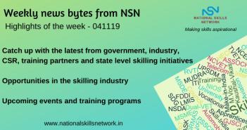 News Bytes on Skill Development and Vocational Training – 041119