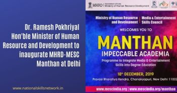 MHRD - MESC Manthan Impeccable Academia at Delhi