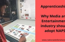 Apprenticeships Why Media and Entertainment industry should adopt NAPS