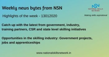 News Bytes on Skill Development and Vocational Training – 13012020