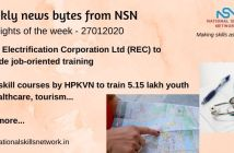News Bytes on Skill Development and Vocational Training