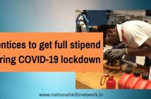 Apprentices to get full stipend during COVID-19 lockdown