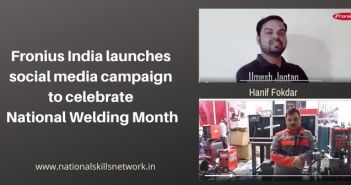Fronius India social media campaign National Welding Month