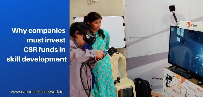 Investing CSR funds in skill development