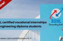 BSNL certified vocational internships