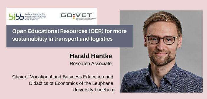 Harald Hantke Research associate