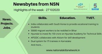 Newsbytes on Skill Development