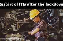 Restart of Industrial Training Institutes (ITI) after lockdown