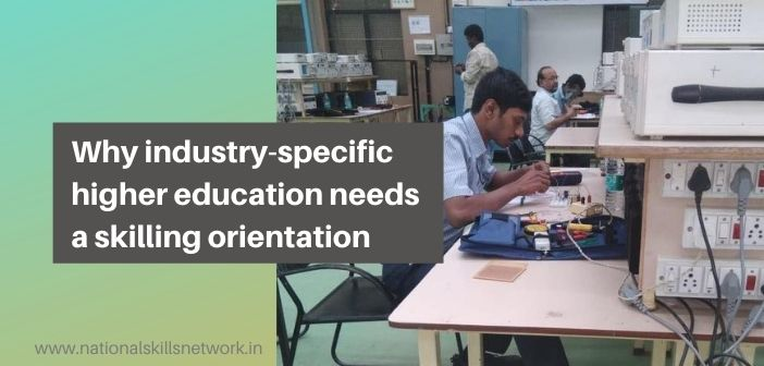 Industry-specific higher education