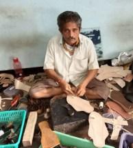 Arun Satapute, Kolhapuri Artisan