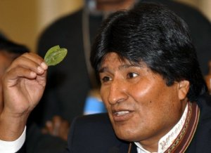 Evo Morales Coca Yes, Cocaine No