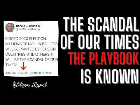 The Scandal of OUR TIME:  The Playbook is KNOWN