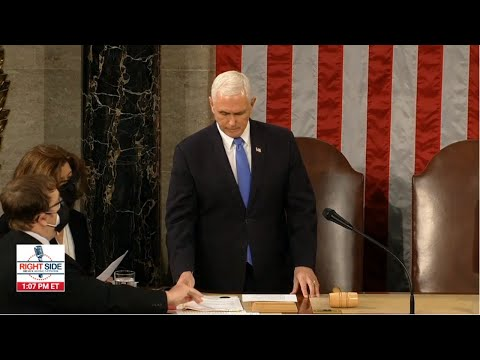 LIVE: Joint Session of Congress as Electoral College Votes are Counted 1/6/20