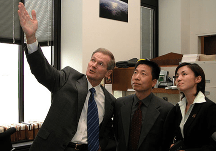 Potential Biden NASA Pick Invested in Chinese Telecom Giant Blacklisted by Pentagon