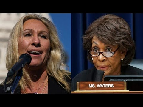 Marjorie Taylor Greene Introduces Resolution to Expel Congresswoman Maxine Waters Over Comments