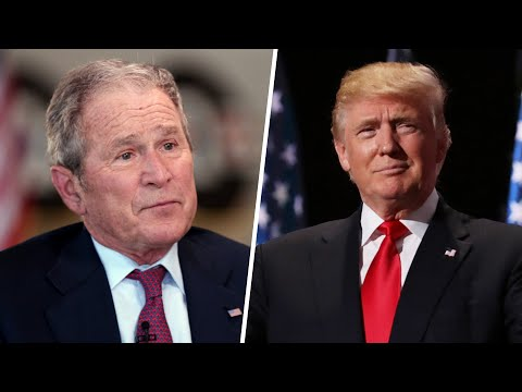 Bush Blasts Trump's Foreign Policy as Isolationist After Destroying Numerous Countries with Dem Help