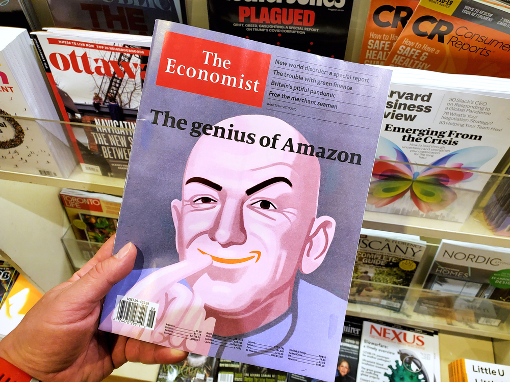 Billionaire Envy Can't Sink Bezos' Boat