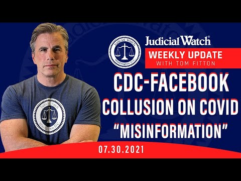 """CDC-Facebook Collusion on Censorship of Covid """"Misinformation""""? Left's Attack on Fair Elections"""