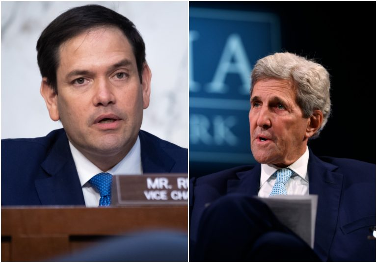 Rubio Calls on Biden to Fire Climate Envoy Kerry Over Chinese Investments