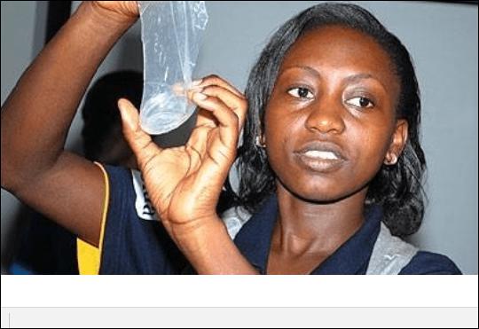 Herpes female condom