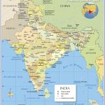 Political Map Of India With States Nations Online Project