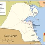 Political Map Of Kuwait Nations Online Project
