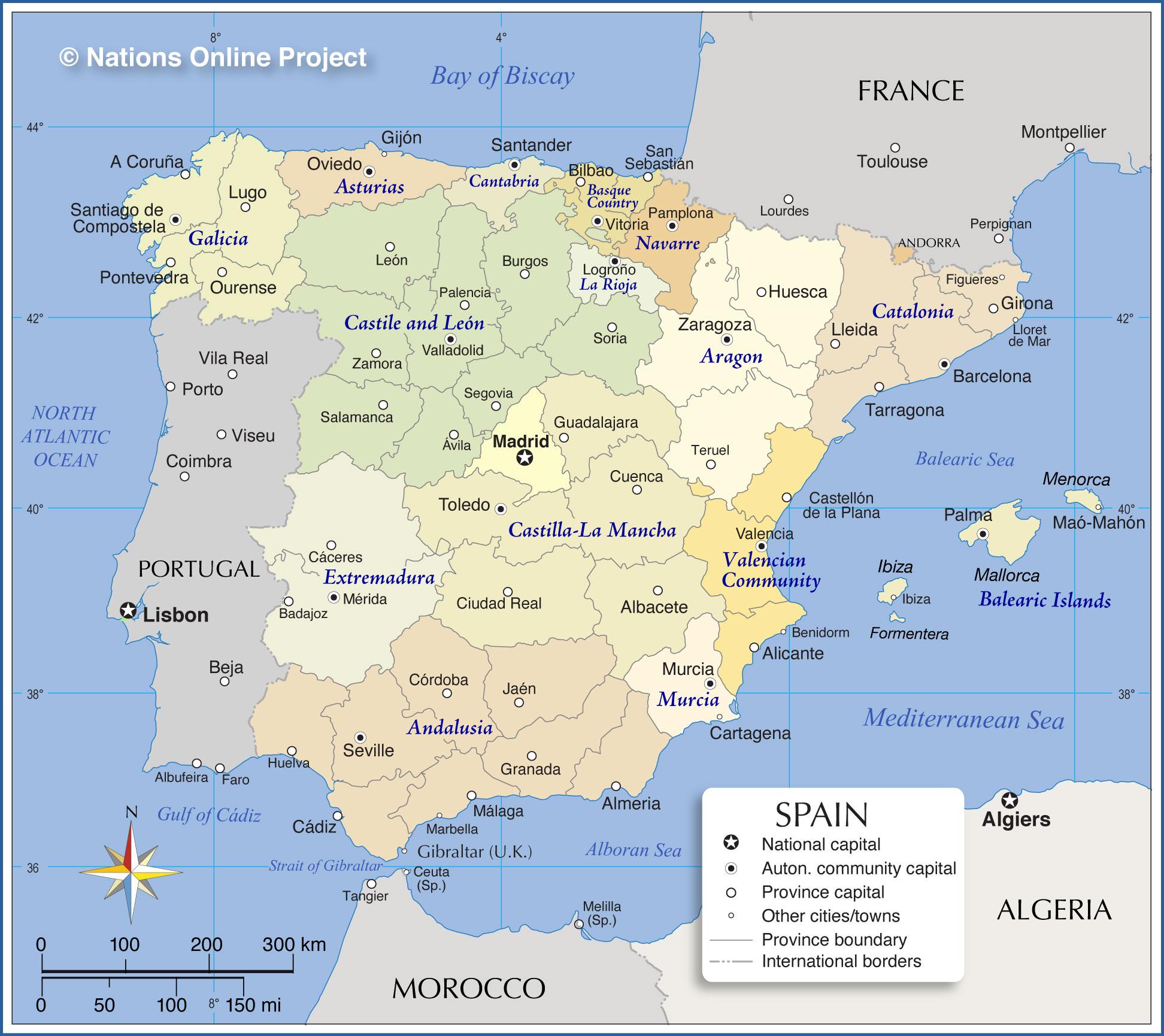 Map Of Spain La Mancha.Biological Health Hazard Report Large Legionellosis Outbreak