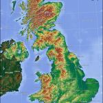 Political Map Of United Kingdom Nations Online Project
