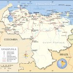 Political Map Of Venezuela Nations Online Project