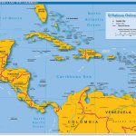 Political Map Of Central America And The Caribbean Nations Online Project
