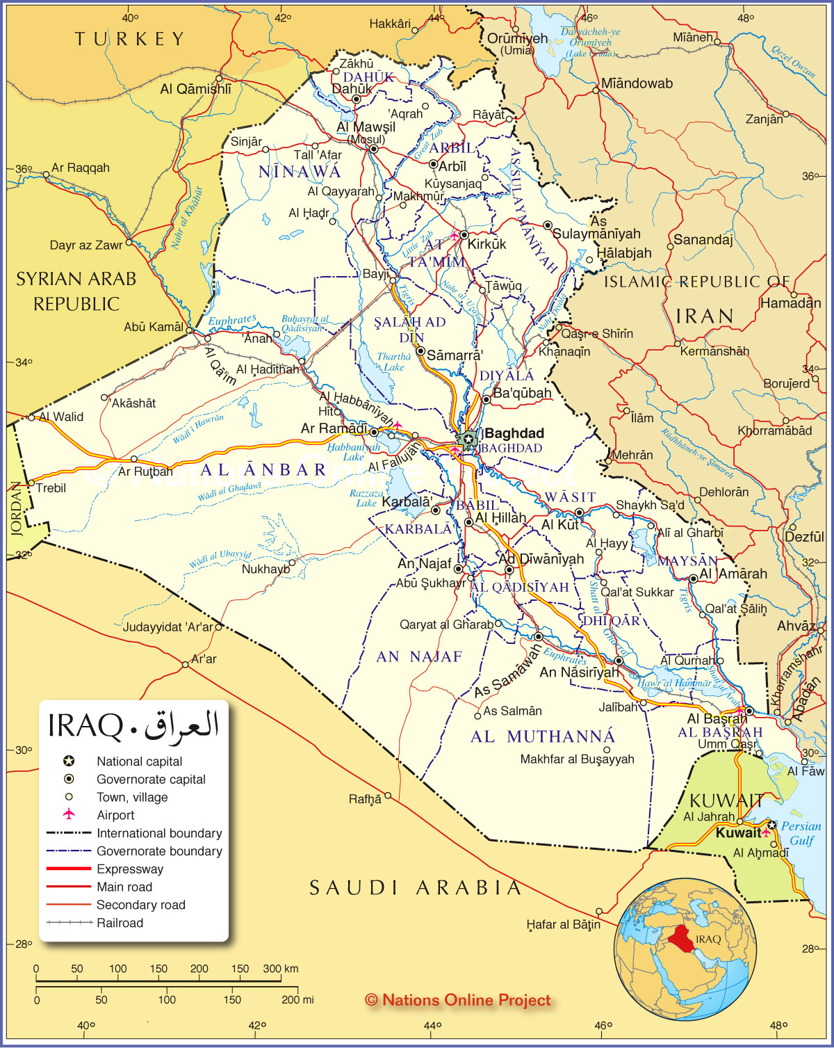 Biological Health Hazard Plague Outbreak Baghdad Iraq Head Space - Baghdad map world