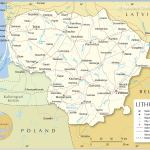 Political Map Of Lithuania Nations Online Project