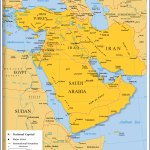 Map Of Western Asia And The Middle East Nations Online Project