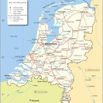 Political Map Of Netherlands Nations Online Project