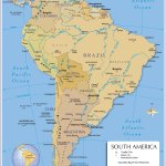Political Map Of South America 1200 Px Nations Online Project