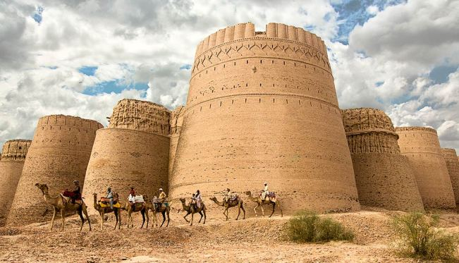 Derawar Fort in Bahawalpur District, Punjab province, Pakistan