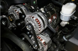 GM and Chevy Vortec Triple Alternator Kit Bracket