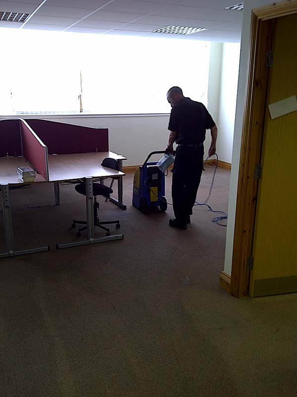 Newcastle City Centre One-Off Deep Office Cleaning Photos