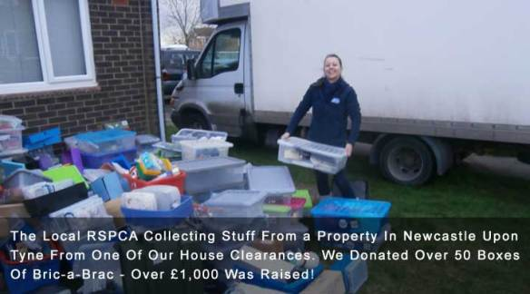 Upto 50% Of House Clearance Items Donated To Charity