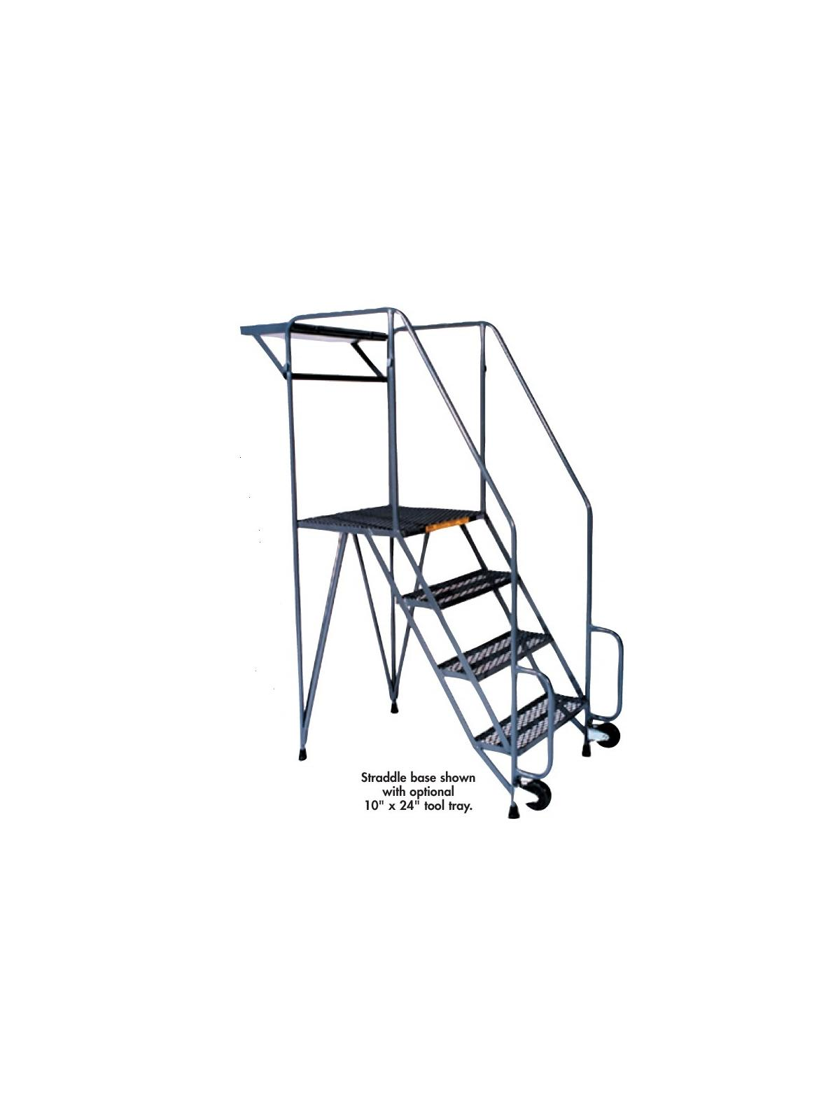 Tool Tray For Tilt Amp Roll Ladders At Nationwide Industrial