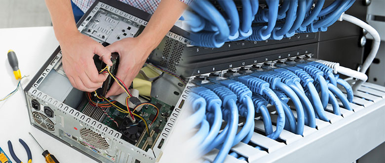 Romeoville Illinois Onsite PC & Printer Repairs, Networks, Telecom & Data Wiring Services