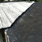 leaking roof repair improperly imstalled roof